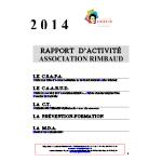 Rapport d'activité 2014 de l'Association Rimbaud