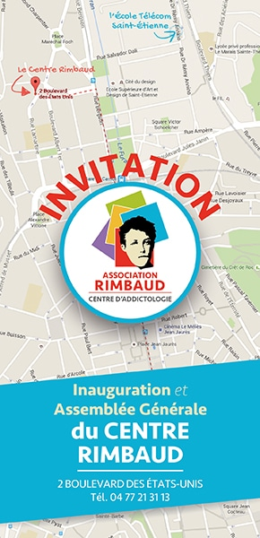 Invitation à l'inauguration du Centre Rimbaud