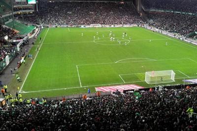 Le stade Geoffroy Guichard à Saint-Etienne