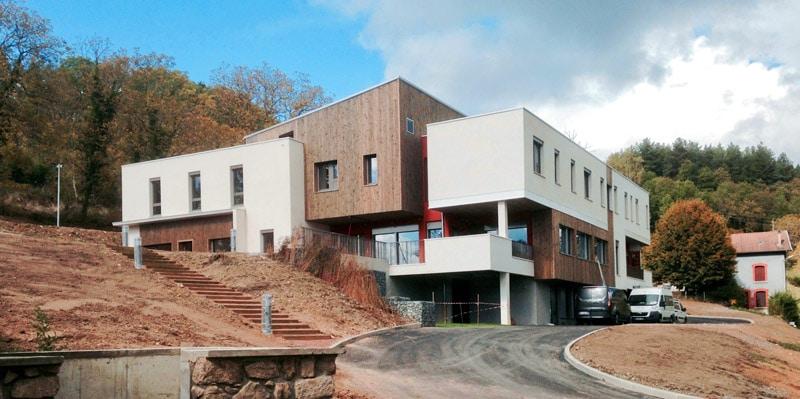 Le nouveau bâtiment de la Communauté Thérapeutique du Centre Rimbaud