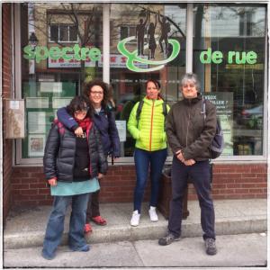 L'équipe de Rimbaud en voyage au Canada